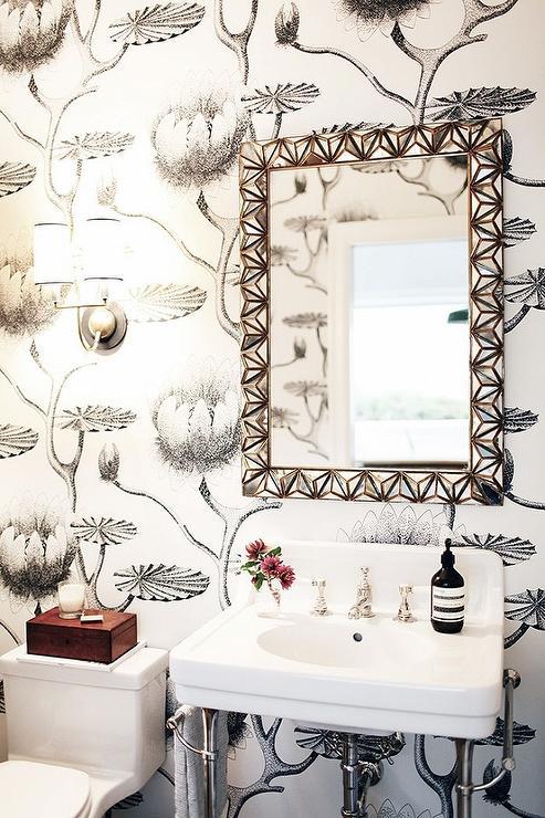 cole and son flamingos wallpaper design ideas. Black Bedroom Furniture Sets. Home Design Ideas