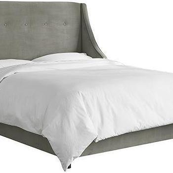 Plush Natural Bed Cb2