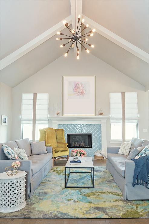 Agreeable Gray Living Room : Eclectic - Living Room - Sherwin Williams Agreeable Gray
