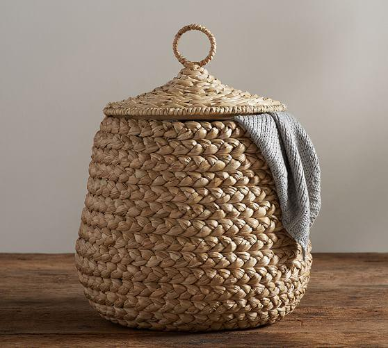Graphic Lidded Baskets West Elm
