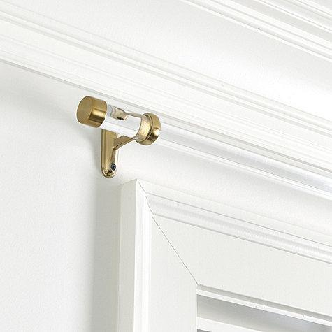 Window Treatments Brass Curtain Rod Finial