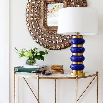 Brass Console Table Design Ideas