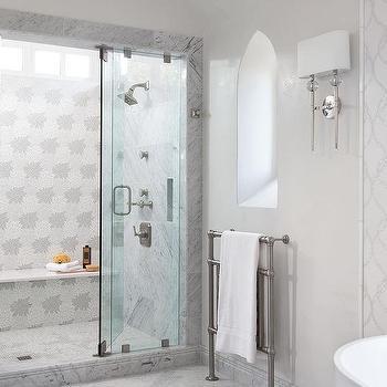 Master Bathroom With Moorish Style Window