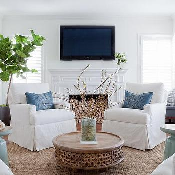 West Elm Carved Wood Coffee Table Design Ideas