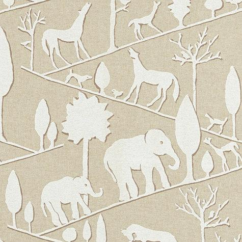 37530a4173d6 Animal Print Beige and White Fabric