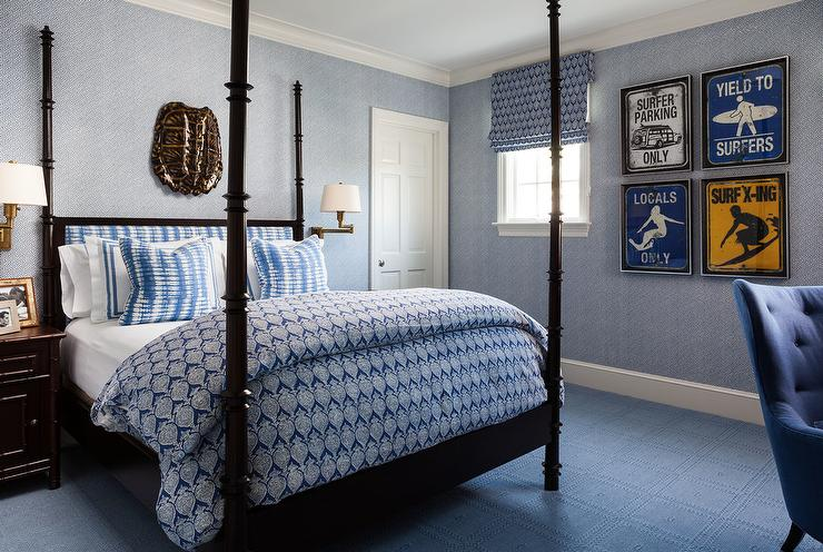Gallery For > Blue And Brown Kids Room