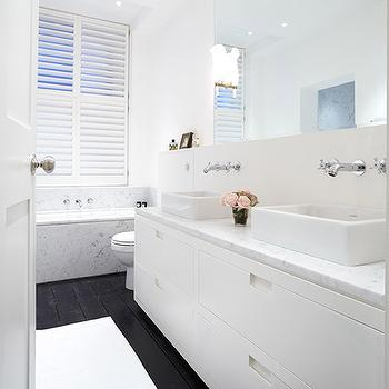 ICon Ceramic Rectangular Vessel Bathroom Sink with Overflow