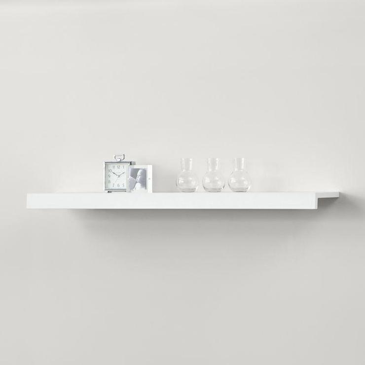 White Wedge Shelf