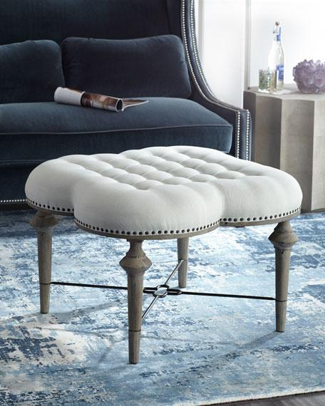Lucite Ottoman Williams Sonoma