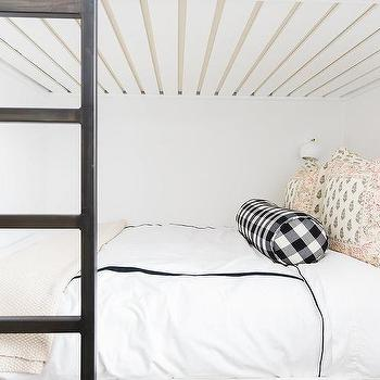 Black Bunk Bed With Ladder Design Ideas