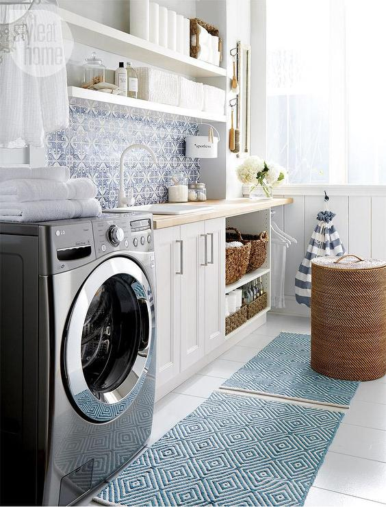 laundry room ikea shelves design ideas