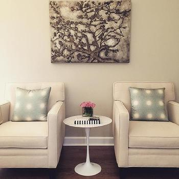 DecorPad Instagram. Ivory And Green Living Room ...
