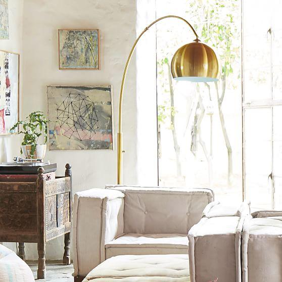 Arch floor lamp gold arch floor lamp aloadofball Gallery
