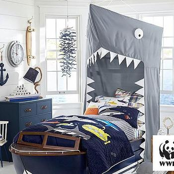 Blue Shark Lumbar Sham