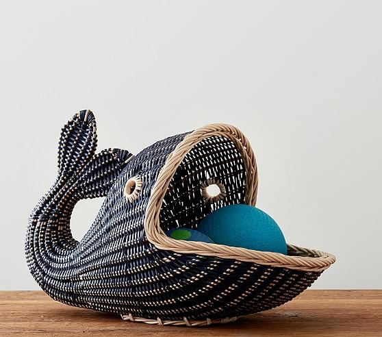Pink Fish Shape Basket