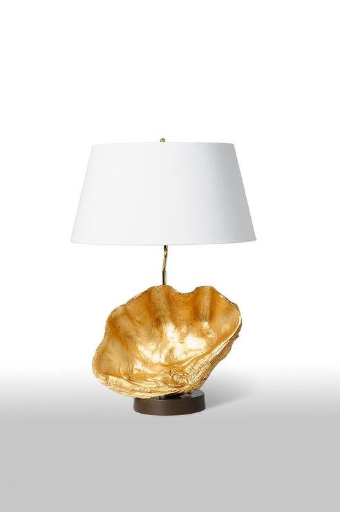 Z Gallerie Atlantis Clam Shell Gold