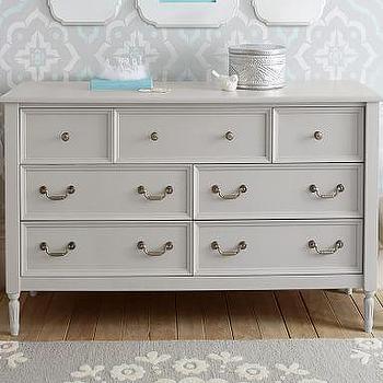 Extra Wide White Dresser