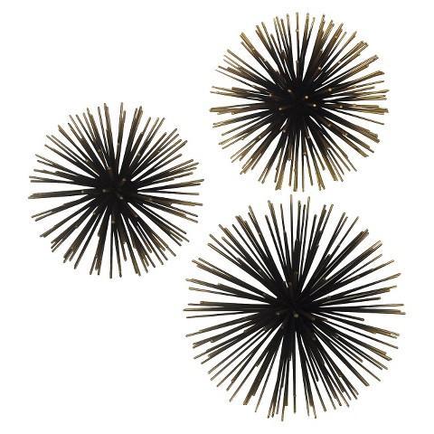 sea urchin decor.htm gold sea urchin wall decor  gold sea urchin wall decor