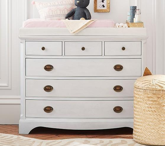 Wonderful White Changing Table Dresser