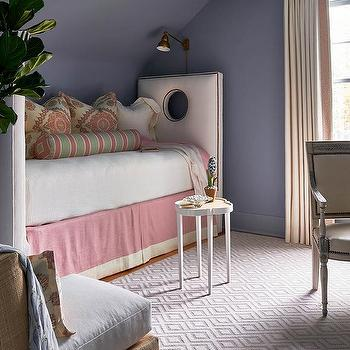 Pink Drapes Contemporary Living Room Benjamin Moore