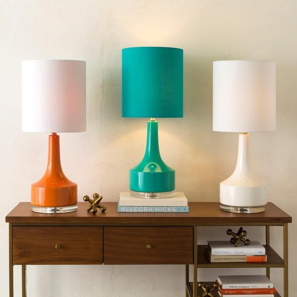 Ferah ceramic table lamp base pottery barn various colors glazed ceramic table lamp view full size aloadofball Image collections