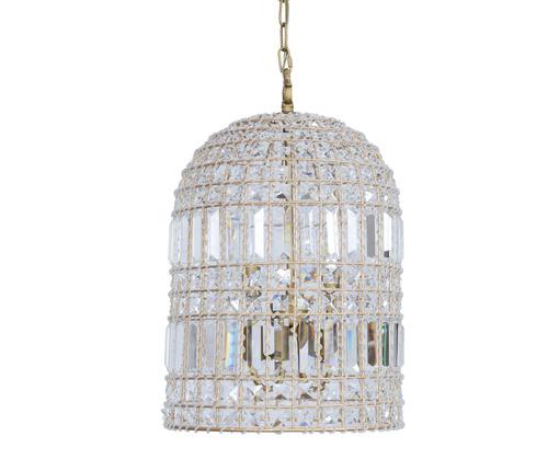 finds crystal vintage birdcage chandelier - Birdcage Chandelier