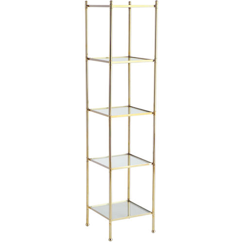 Gold Glass Etagere Look 4 Less And Steals And Deals