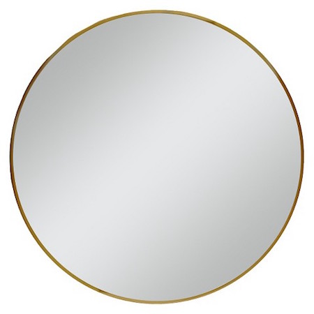 West Elm Wall Mirror west elm gold framed wall mirror look for less