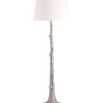 Ocean palm gold metal floor lamp silver tree motif floor lamp aloadofball Images