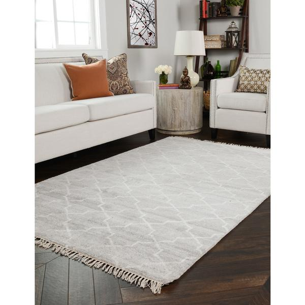 Kosas Home Hand Knotted Torrance Viscose And Wool Rug
