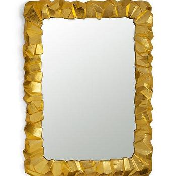 Gold Rock Frame Mirror - Products, bookmarks, design, inspiration ...