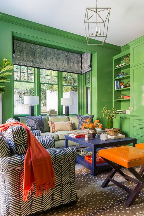 Apple green room design ideas for Apple green living room ideas