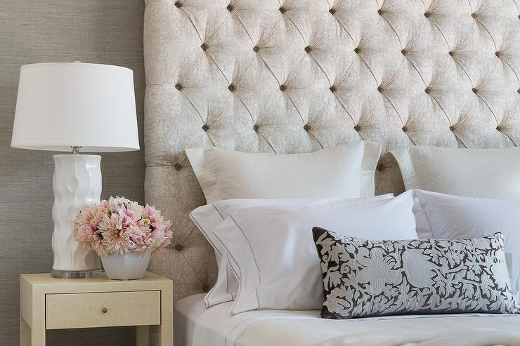 cream headboard design ideas