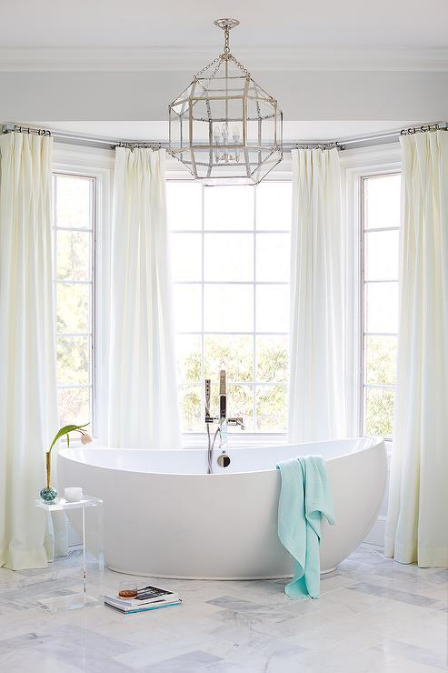 Curtains in master bathroom curtain menzilperde net for Master bath windows