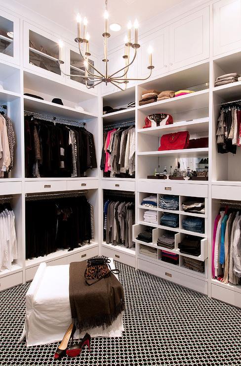 pull out drawers transitional closet la closet design. Black Bedroom Furniture Sets. Home Design Ideas