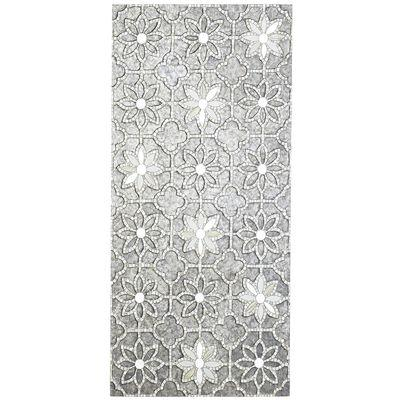 Mosaic Mirror Wall Decor mosaic flowers wall panel - products, bookmarks, design