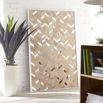 Diy Framed Wall Panels Using Beige Wallpaper