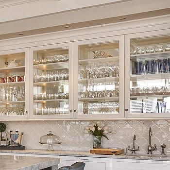 M Wet Bar Glass Front
