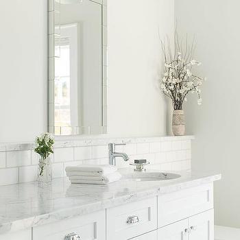 Bathroom Backsplash Shelf Ledge Design, Bathroom Ledge Shelf