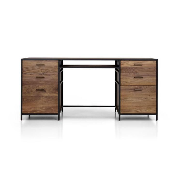 Black Wood Desk Hostgarcia