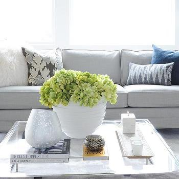 Living Room Glass Top Cocktail Table Design Ideas