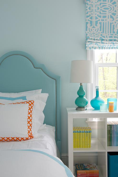 Gallery for light blue and orange room - Orange and light blue bedroom ...