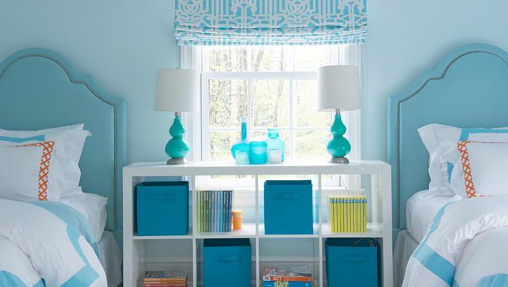 Blue And Orange Kids Bedroom Cottage Bedroom
