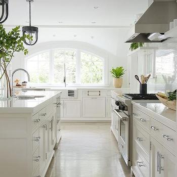 Arched Kitchen Windows Design Ideas