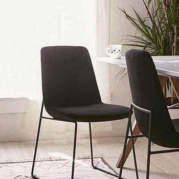 Black Cargo Stacking Chair Set Of 2 World Market