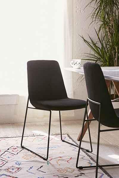 Black Cargo Stacking Chair Set Of 2 World Market