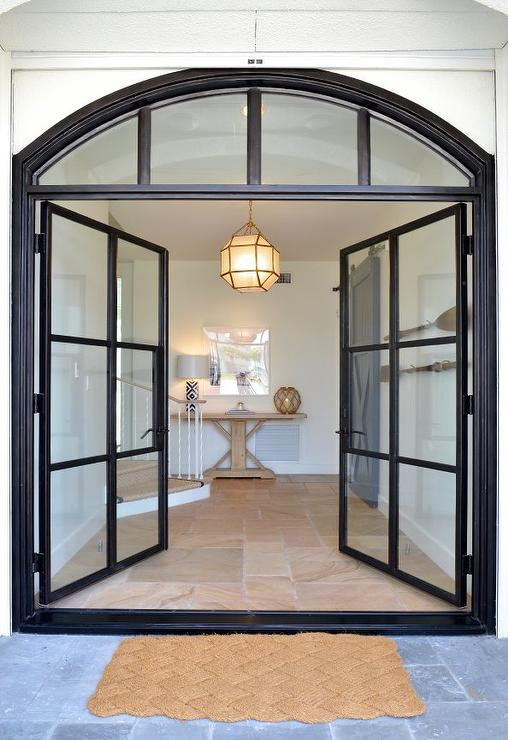 Steel And Glass Double Front Doors Pin It On Pinterest View Full Size