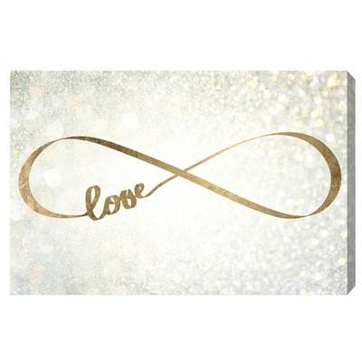 sc 1 st  Decorpad & Gold Infinity Love Wall Art