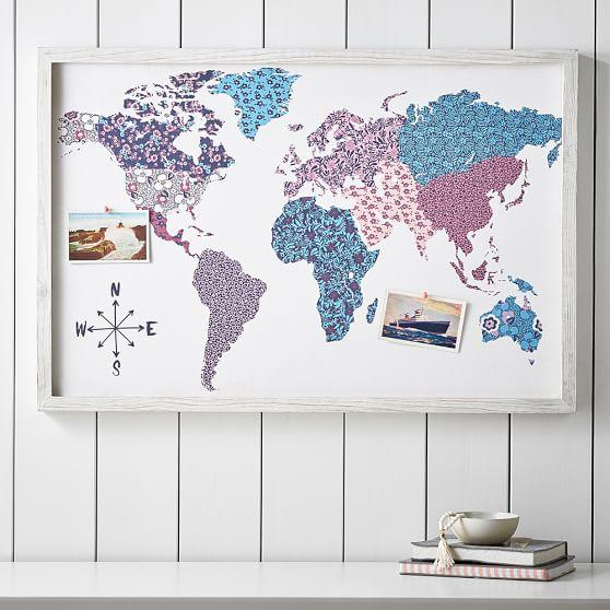 Purple and blue atlas framed pin board gumiabroncs Image collections