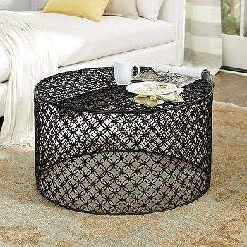 quatrefoil pattern coffee table - products, bookmarks, design
